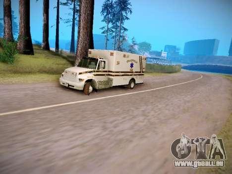 Pierce Commercial Grasonville Ambulance für GTA San Andreas Innenansicht