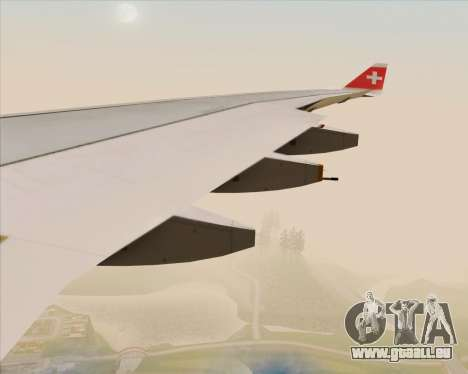 Airbus A330-300 Swiss International Air Lines pour GTA San Andreas roue