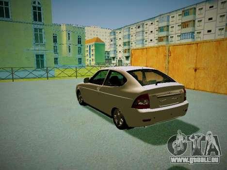 Lada Priora Coupe für GTA San Andreas zurück linke Ansicht