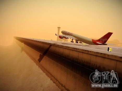 Airbus A340-600 Virgin Atlantic New Livery für GTA San Andreas Innen