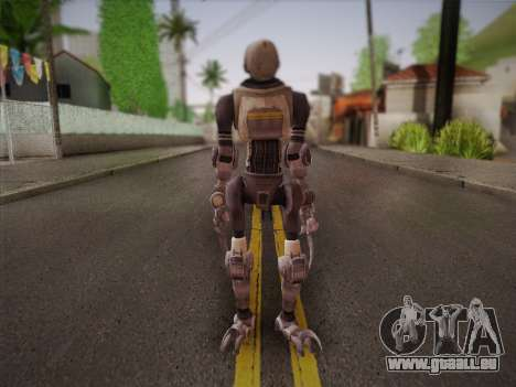 Mouser Human pour GTA San Andreas