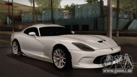 Dodge SRT Viper GTS 2012 für GTA San Andreas