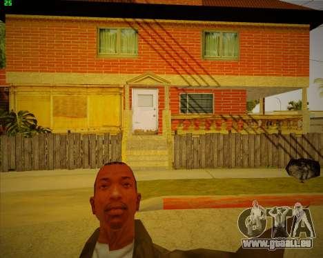 Aktualisiert Haus CJ für GTA San Andreas