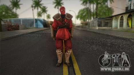 Foot Soldier Elite v1 pour GTA San Andreas
