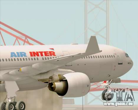 Airbus A330-300 Air Inter pour GTA San Andreas salon