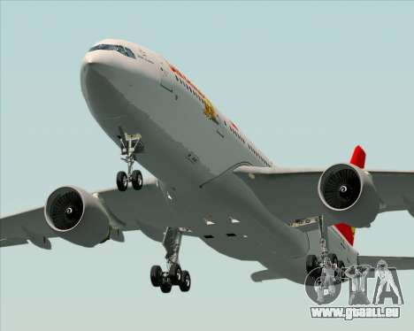 Airbus A330-200 Air China für GTA San Andreas Innen