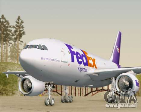 Airbus A310-300 Federal Express pour GTA San Andreas moteur