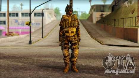 Les soldats de l'UNION européenne (AVA) v3 pour GTA San Andreas