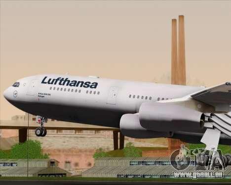 Airbus A340-313 Lufthansa für GTA San Andreas Motor