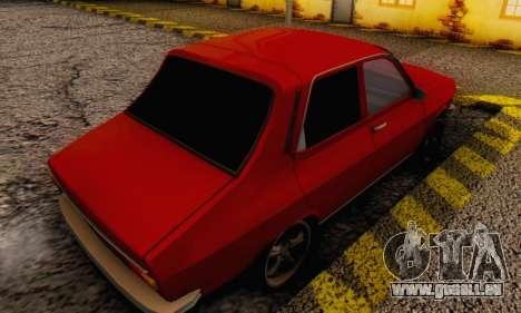 Dacia 1300 Stock 1979 pour GTA San Andreas laissé vue