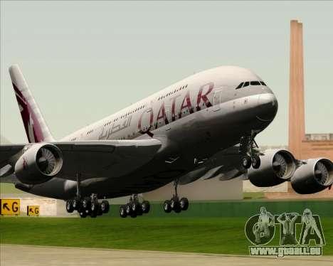 Airbus A380-861 Qatar Airways für GTA San Andreas