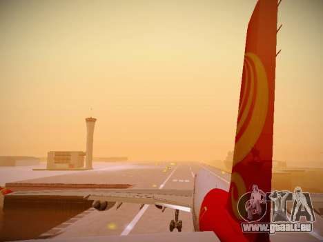 Airbus A340-600 Hainan Airlines pour GTA San Andreas roue
