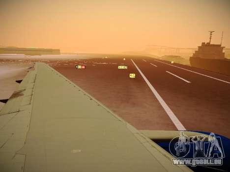 Boeing 777-212ER Transaero Airlines für GTA San Andreas Unteransicht