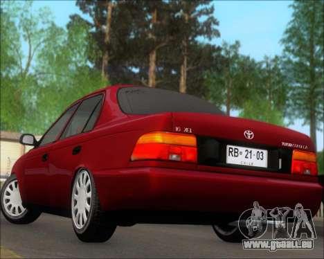 Toyota Corolla 1.6 für GTA San Andreas Seitenansicht