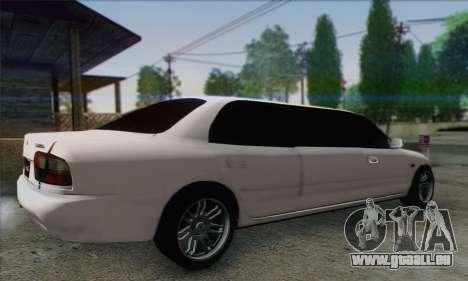 Proton Wira Official Malaysian Limousine für GTA San Andreas linke Ansicht