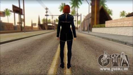 Mass Effect Anna Skin v1 pour GTA San Andreas deuxième écran