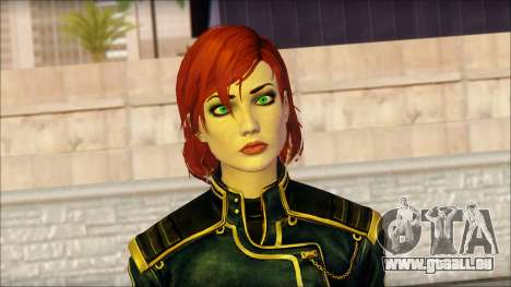 Mass Effect Anna Skin v1 pour GTA San Andreas troisième écran