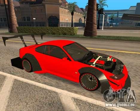 Slivia Red Planet für GTA San Andreas linke Ansicht