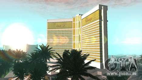 Neue Texturen casino Visage in Las Venturas für GTA San Andreas zweiten Screenshot