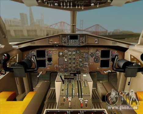 ATR 72-500 Garuda Indonesia Explore pour GTA San Andreas vue de dessus