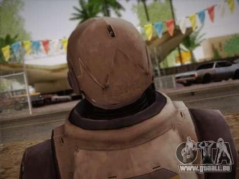 Mouser Human pour GTA San Andreas troisième écran