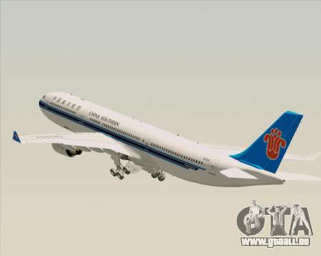 Airbus A330-300 China Southern Airlines für GTA San Andreas Räder