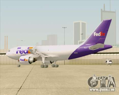 Airbus A310-300 Federal Express für GTA San Andreas Unteransicht