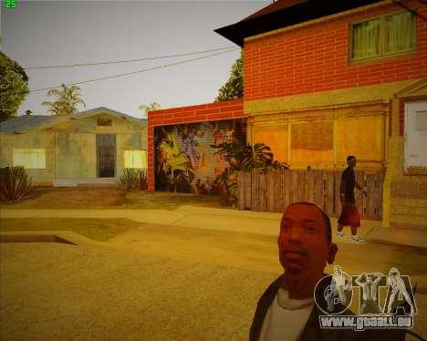 Aktualisiert Haus CJ für GTA San Andreas zweiten Screenshot