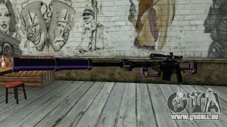 PurpleX Sniper Rifle pour GTA San Andreas