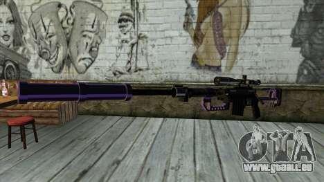 PurpleX Sniper Rifle für GTA San Andreas