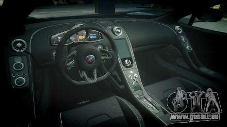 McLaren 650S Spider 2014 [EPM] BFGoodrich pour GTA 4 est une vue de l'intérieur