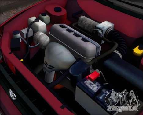 Toyota Corolla 1.6 für GTA San Andreas Rückansicht