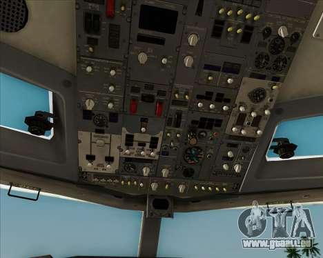 Boeing 737-8AS Ryanair pour GTA San Andreas moteur