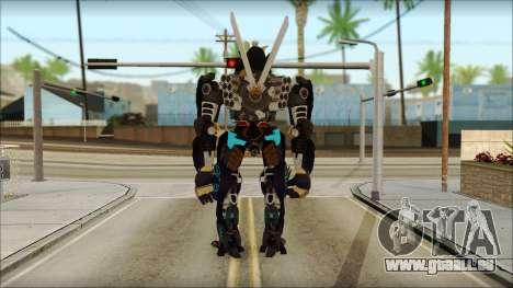 Дрифт (Transformers: Rise of the Dark Spark) pour GTA San Andreas deuxième écran