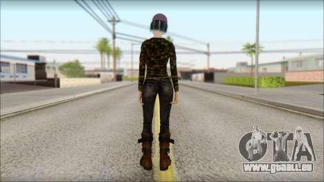 Adulte Clémentine pour GTA San Andreas deuxième écran