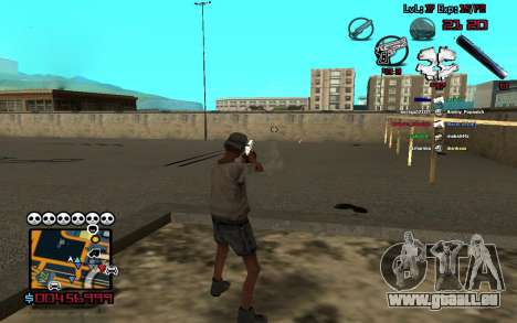 C-HUD by SampHack v.13 pour GTA San Andreas deuxième écran