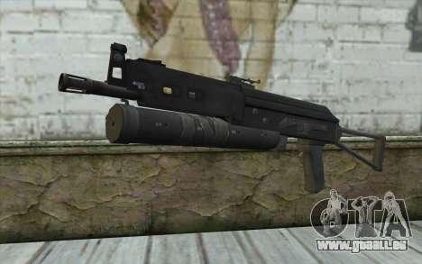 PP-19 Bizon (Battlefield 2) für GTA San Andreas
