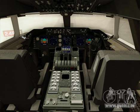 Boeing 747-8 Cargo British Airways World Cargo für GTA San Andreas Innen