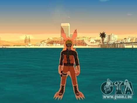 La Transformation De Kyubi pour GTA San Andreas deuxième écran