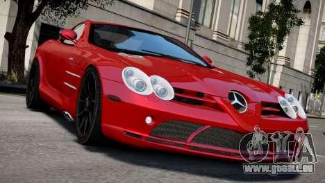 Mercedes SLR McLaren für GTA 4 rechte Ansicht