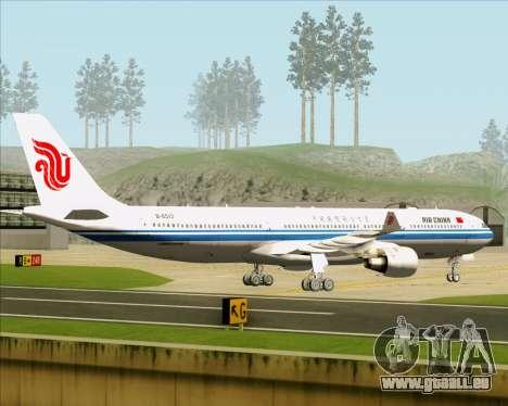 Airbus A330-300 Air China pour GTA San Andreas vue arrière