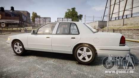 Ford Crown Victoria LX Sport pour GTA 4 est une gauche