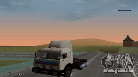 KamAZ-54115 für GTA San Andreas rechten Ansicht