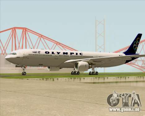 Airbus A330-300 Olympic Airlines für GTA San Andreas Seitenansicht