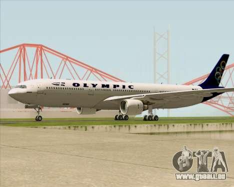 Airbus A330-300 Olympic Airlines pour GTA San Andreas vue de côté