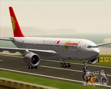 Airbus A330-200 Air China für GTA San Andreas Unteransicht