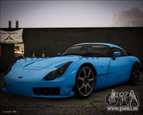TVR Sagaris 2005 für GTA San Andreas