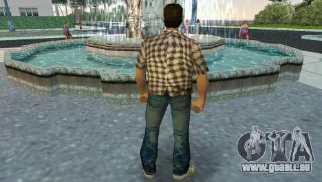 Kockas polo - koszos T-Shirt GTA Vice City pour la troisième écran