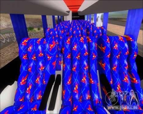Busscar Elegance 360 C.R.F Flamengo für GTA San Andreas Innen