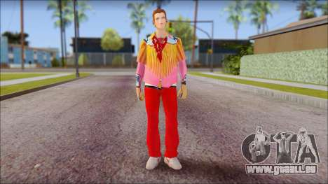 Marty from Back to the Future 1885 pour GTA San Andreas